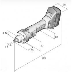 Retificadora FEIN AGSZ 18-280 BL SELECT